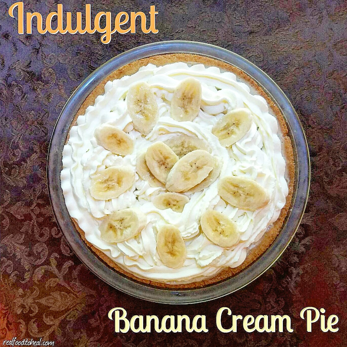 Indulgent Banana Cream Pie
