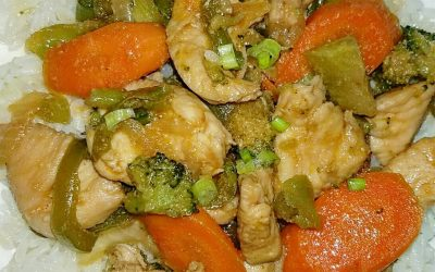Chicken Veggie Stir Fry