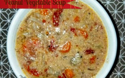 Instant Pot Peanut Vegetable Soup