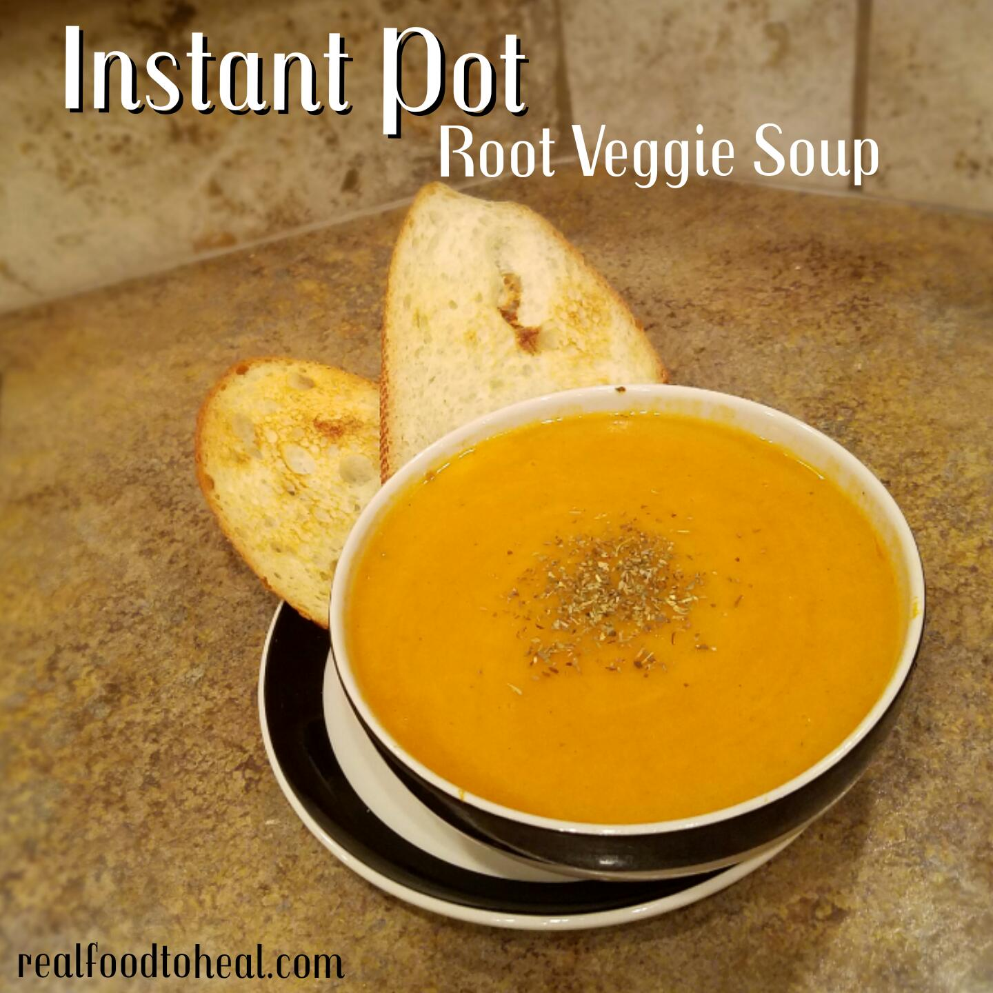 Instant Pot Root Veggie Soup